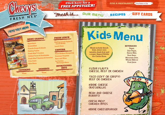 Chevys Lincoln Ne >> Chevys Kids Menu – Kids Matttroy