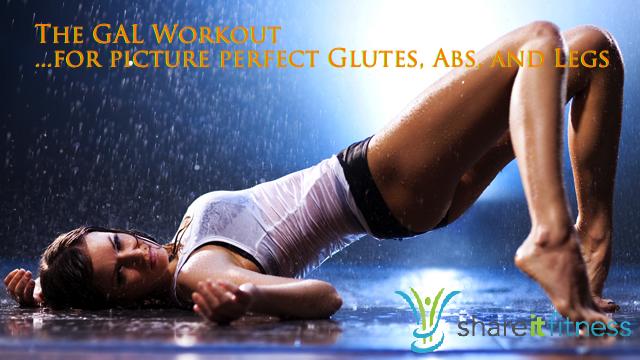 build a nicer butt, legs, abs workout